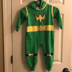 Power Ranger Ninja Storm fleece sweatsuit costume